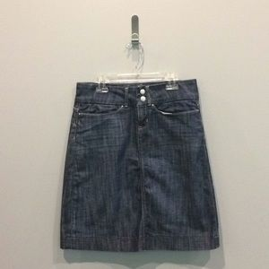 Banana Republic Jean Skirt